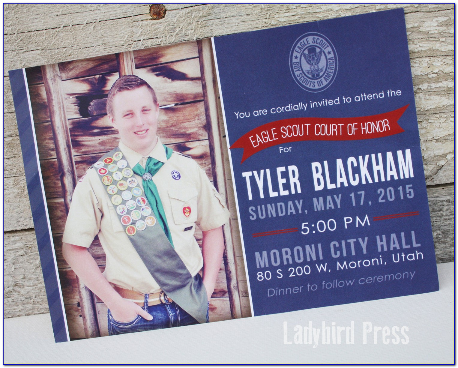 Eagle Scout Invitations With Pictures