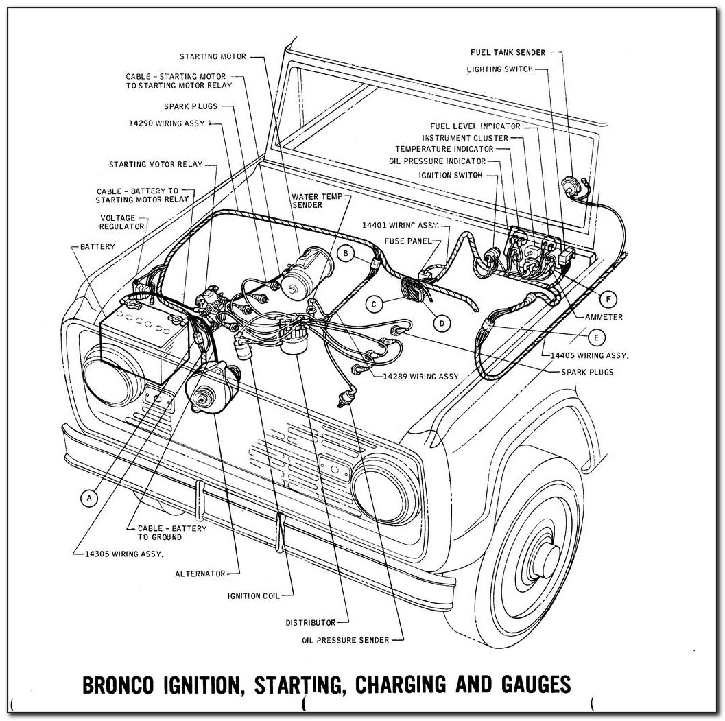 Early Bronco Ignition Wiring Diagram