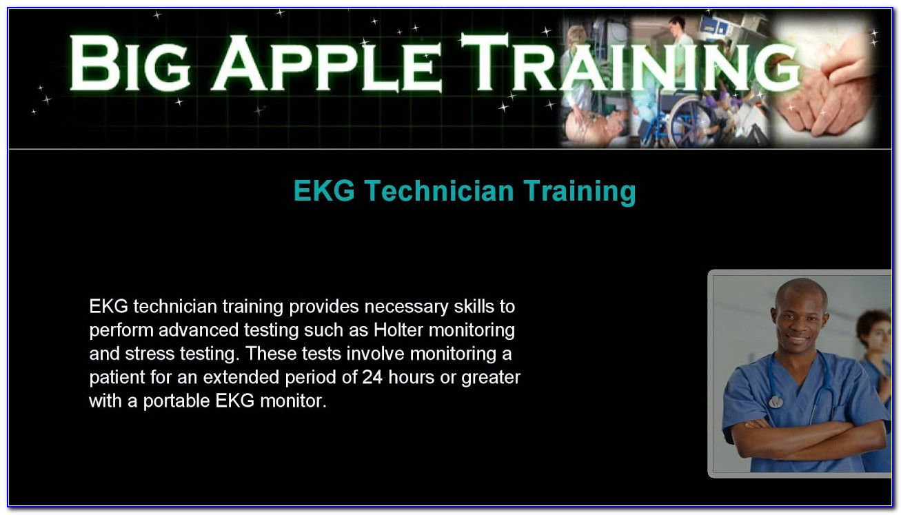 Ekg Technician Certification Programs Near Me