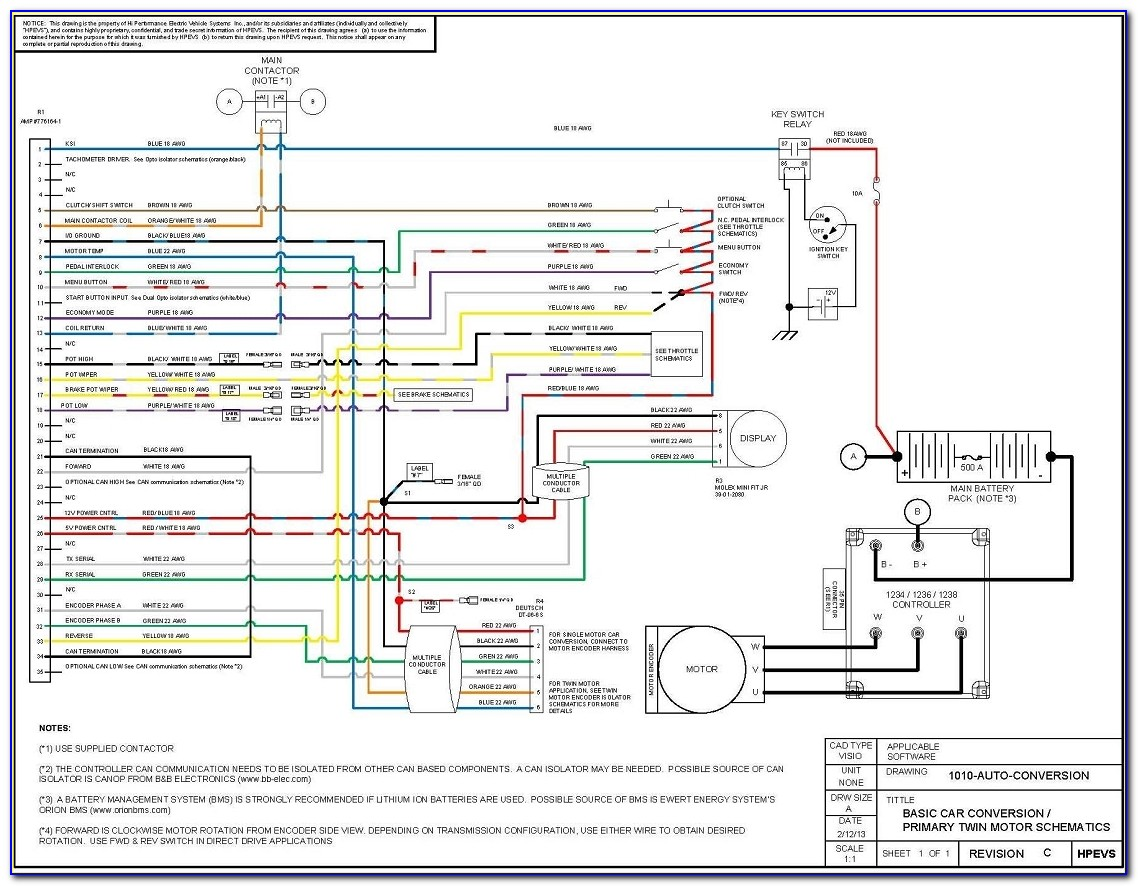 Electrical Schematic Diagram Example