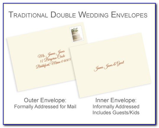 Etiquette For Addressing Wedding Invitations To A Widow