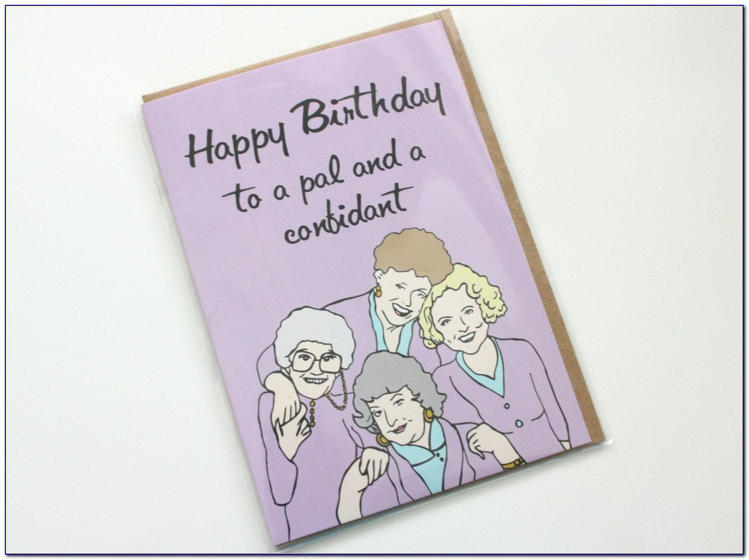 Etsy Funny Birthday Cards For Her