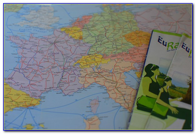 Eurail Pass Route Map