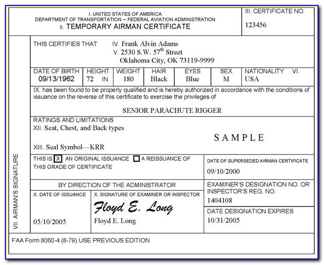Faa Airframe And Powerplant License