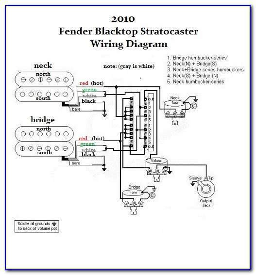 Fender Player Stratocaster Hsh Wiring Diagram