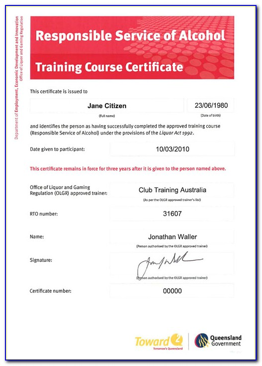 Food Handling Course Nsw