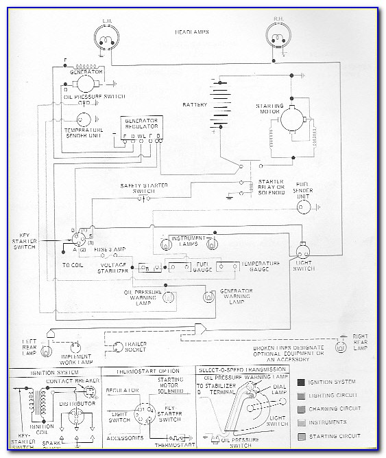 Ford 3000 Gas Tractor Wiring Diagram
