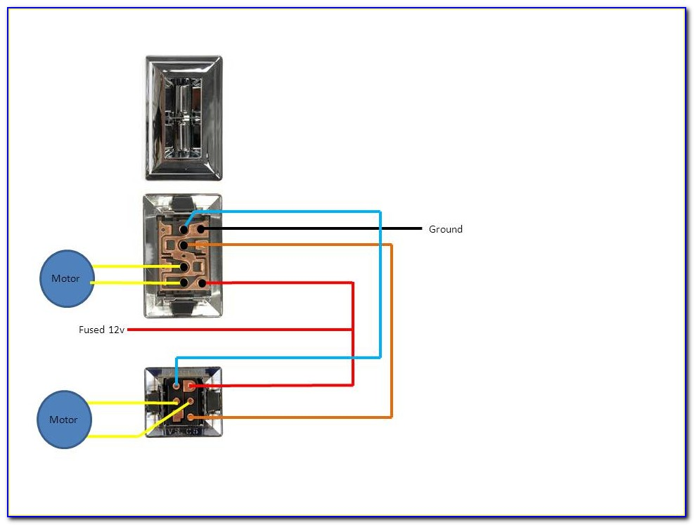 Ford 6 Pin Power Window Switch Wiring Diagram