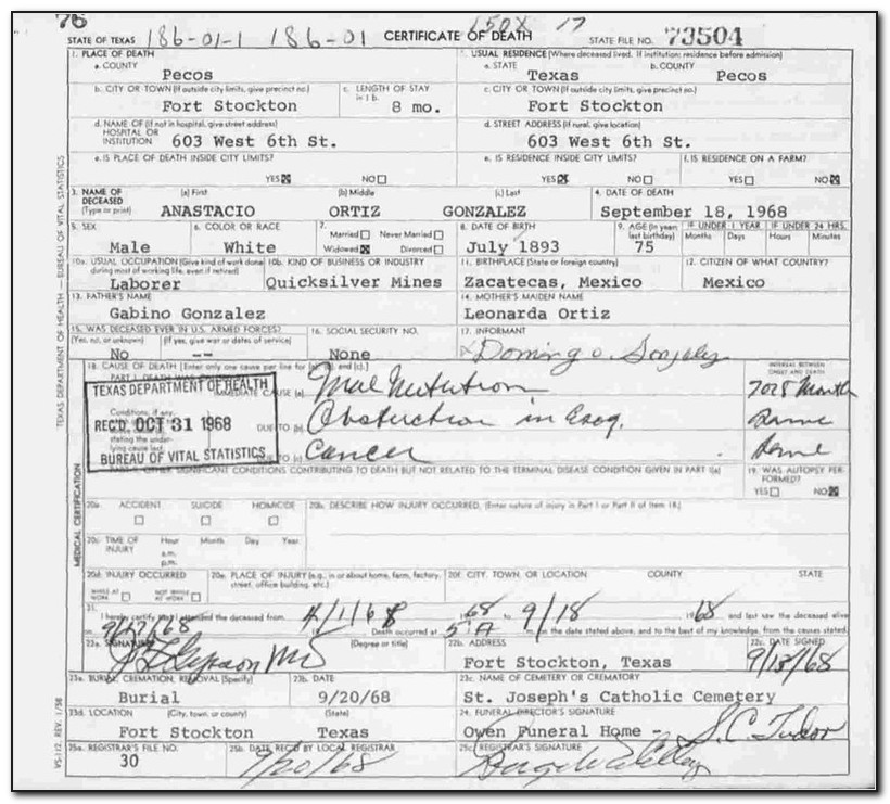 Fort Bend Birth Certificate Office