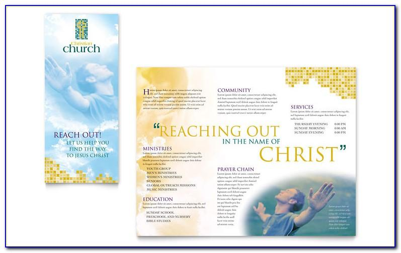 Free Church Brochure Templates For Publisher