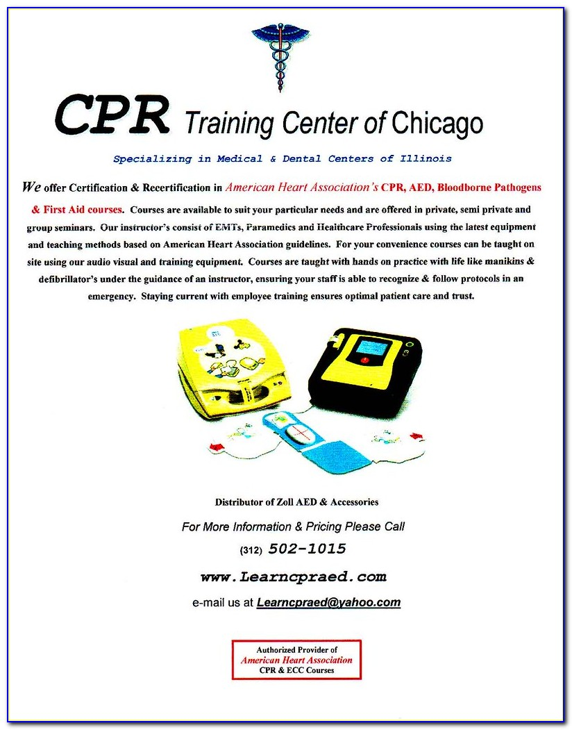 Free Cpr Training Certification Nyc