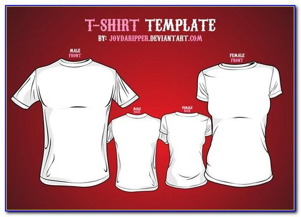 Free Download Vector Polo T Shirt Template