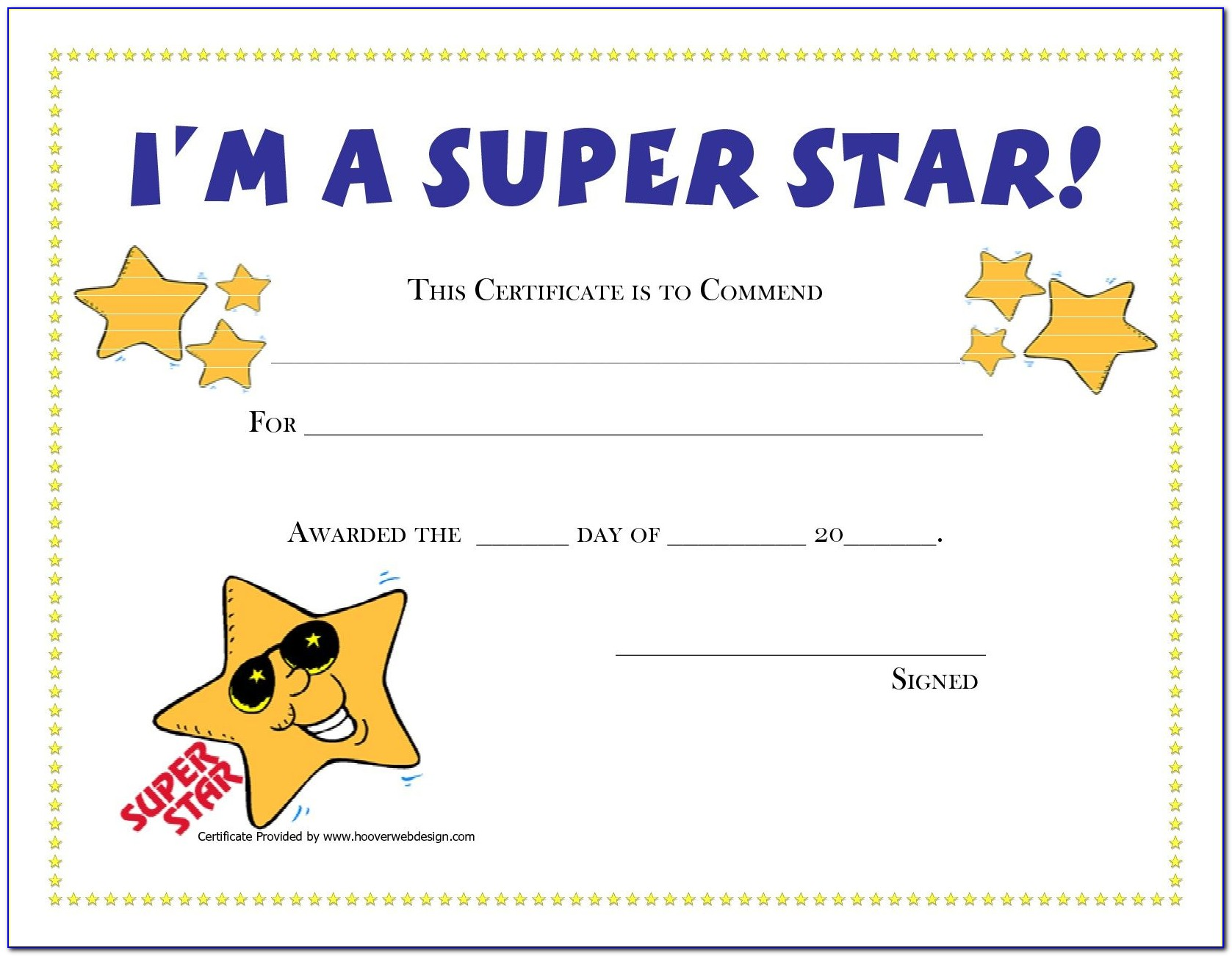 Free Printable Certificate Templates For Students