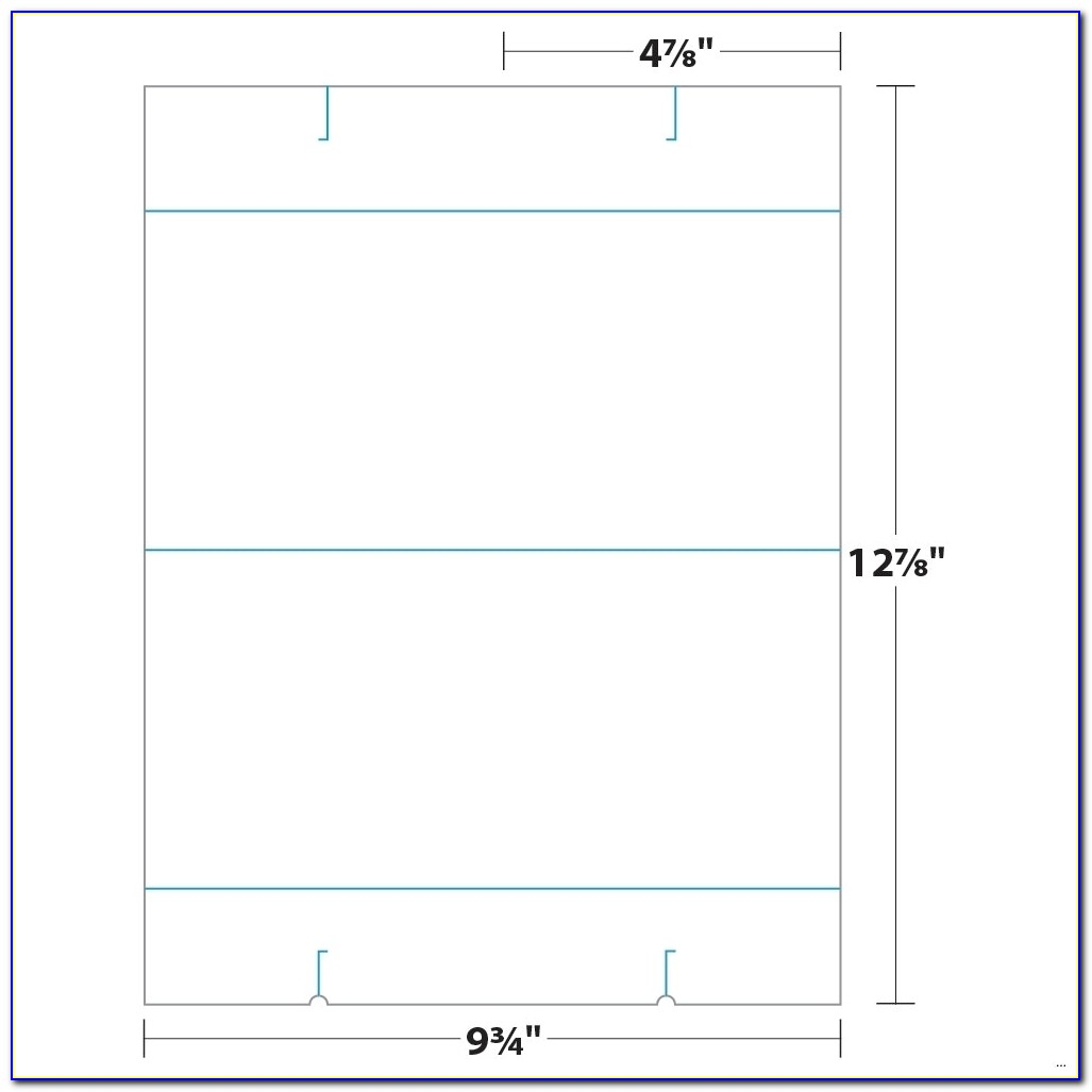 Free Tent Card Design Template