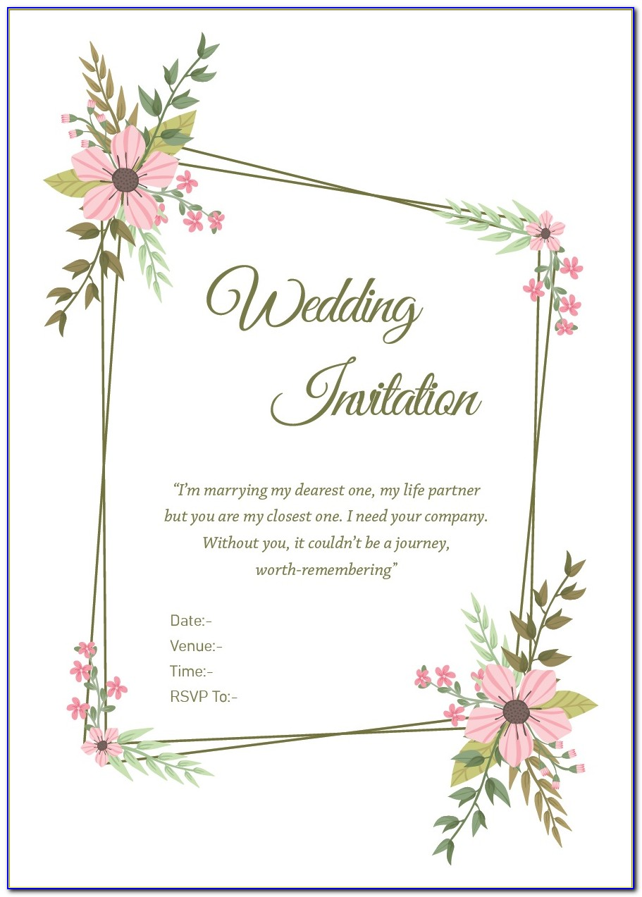 Friends Invitation Card Wordings For Marriage In Kannada