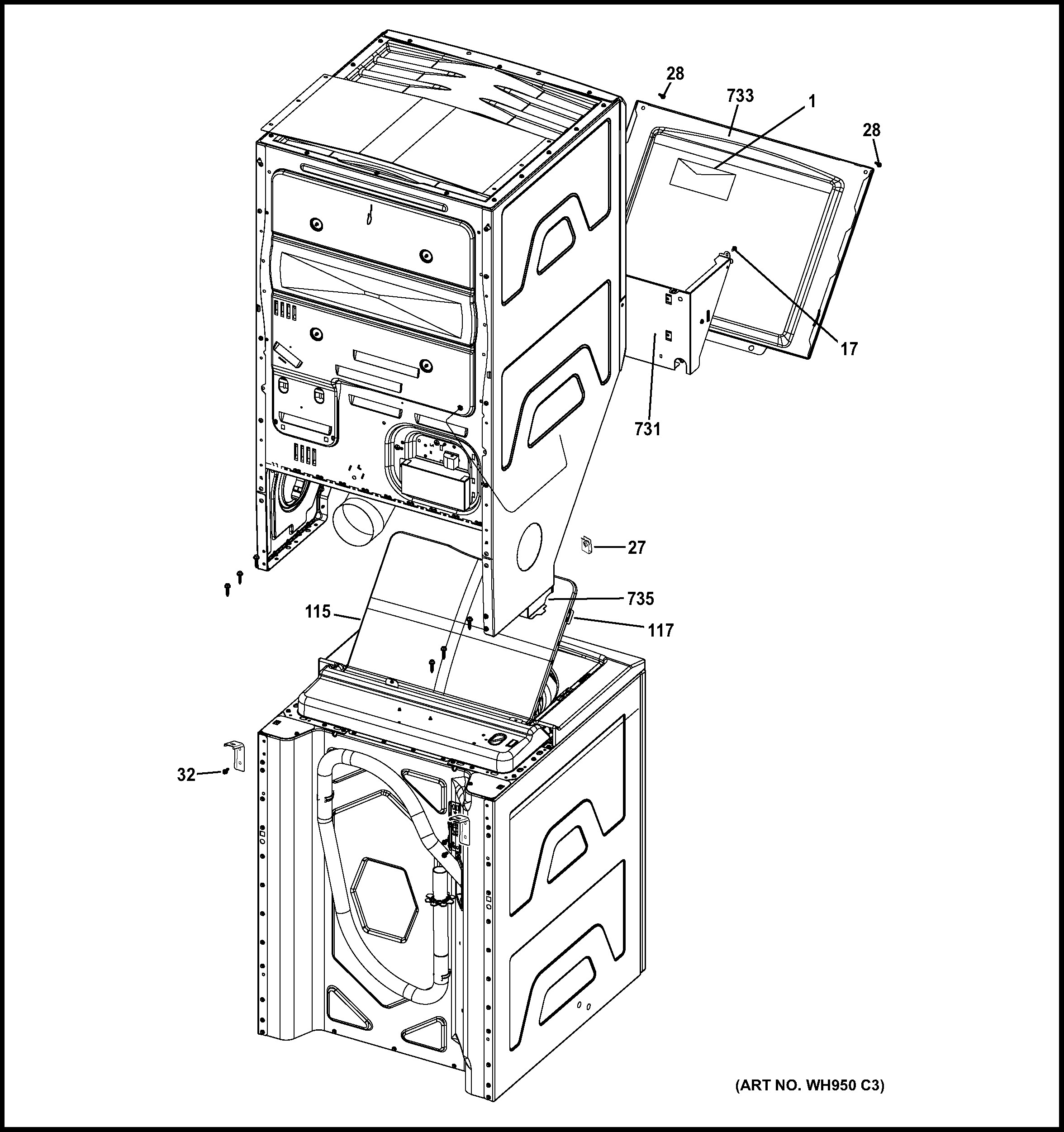 Ge Washer Lid Switch Wiring Diagram