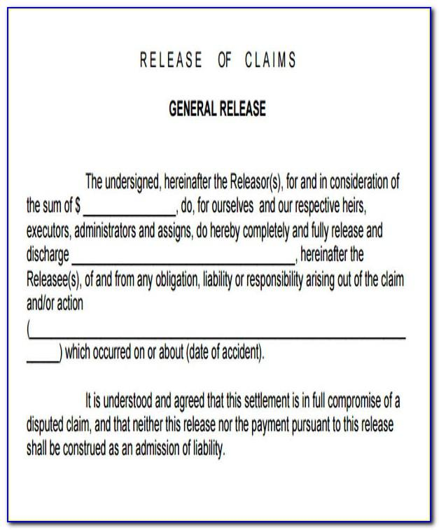 Generic Fitness Liability Waiver Form