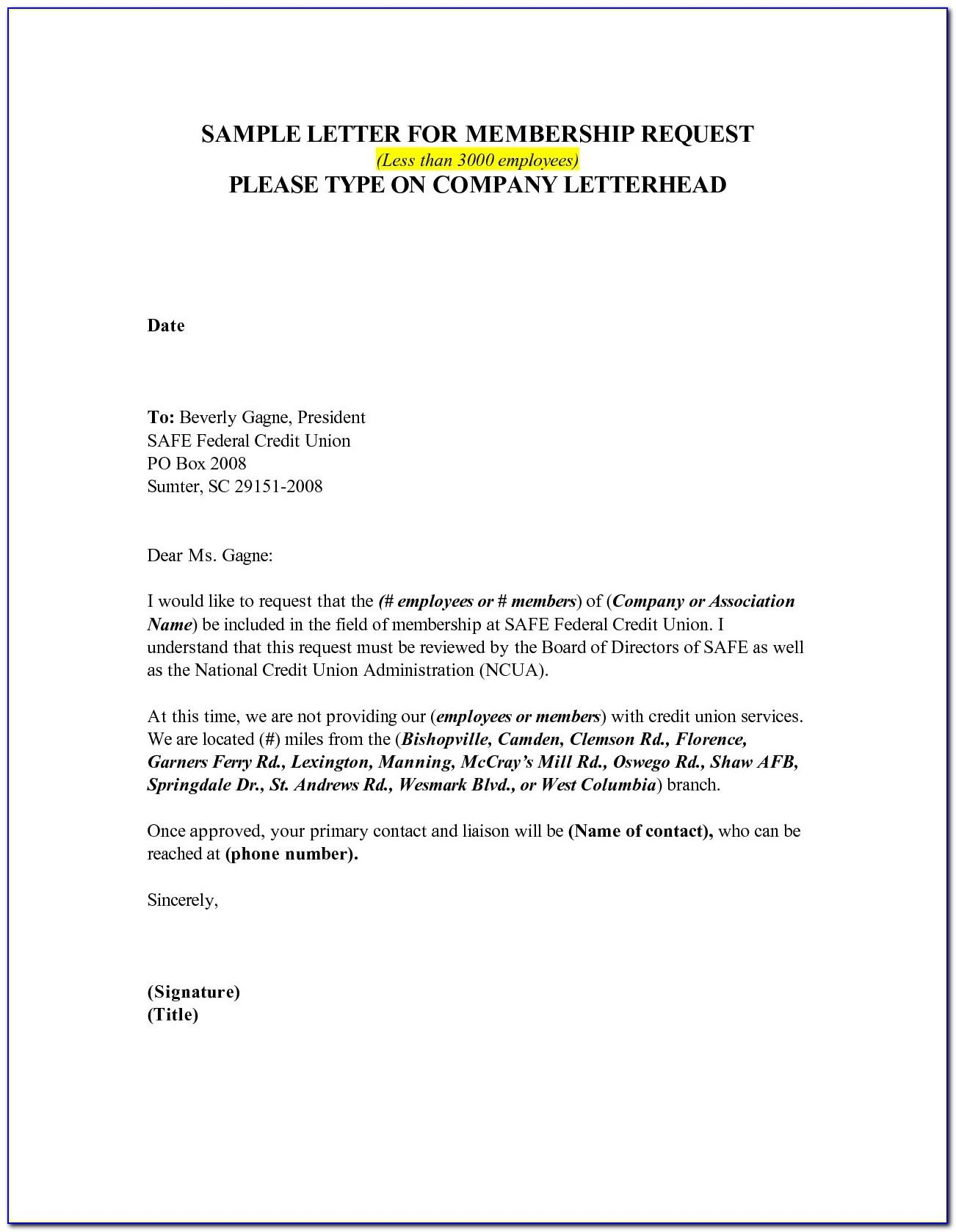 Gym Contract Cancellation Letter Sample