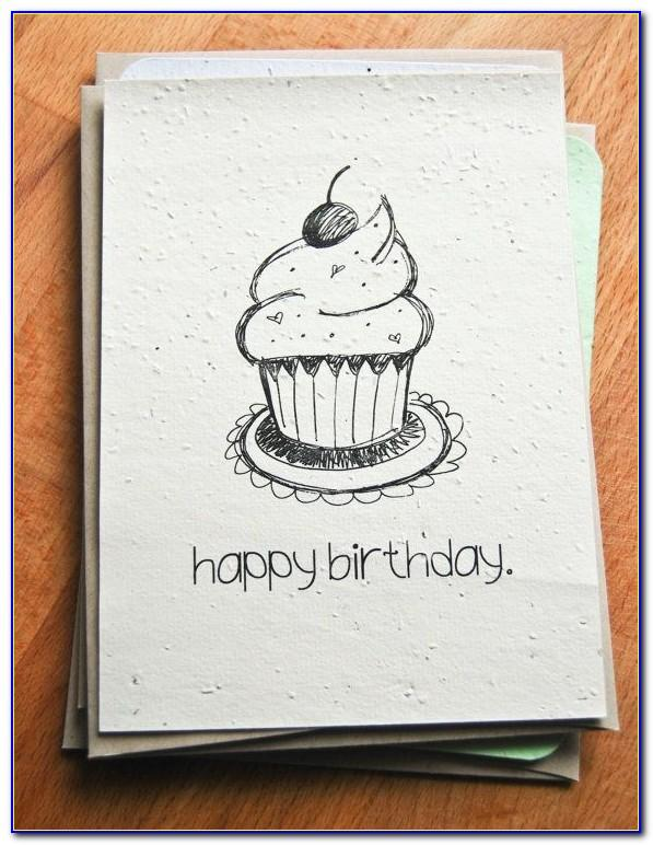 Happy Birthday Drawings For Card