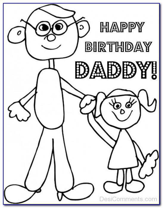 Happy Birthday Line Drawing Cards