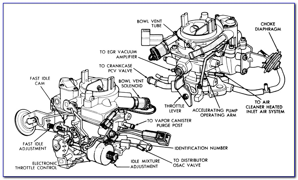 Holley Carb Linkage Diagram