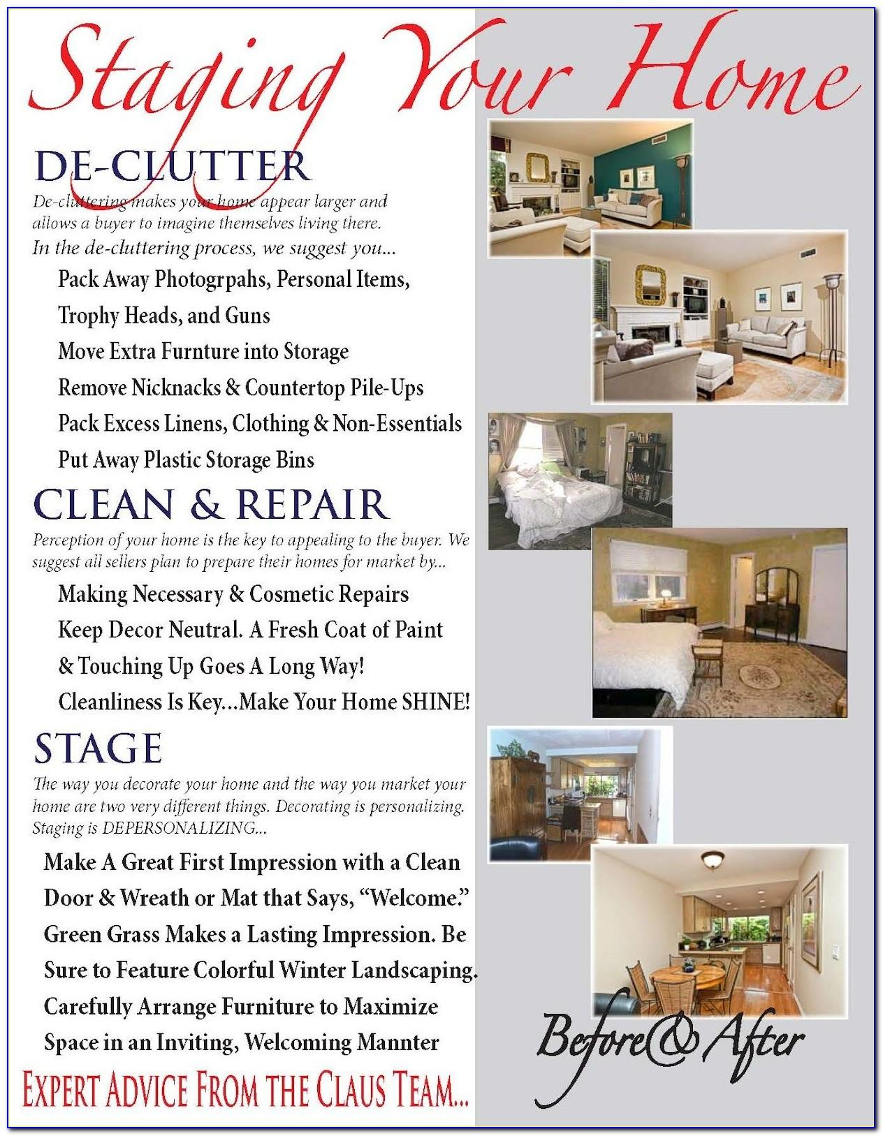Home Staging Flyer Templates