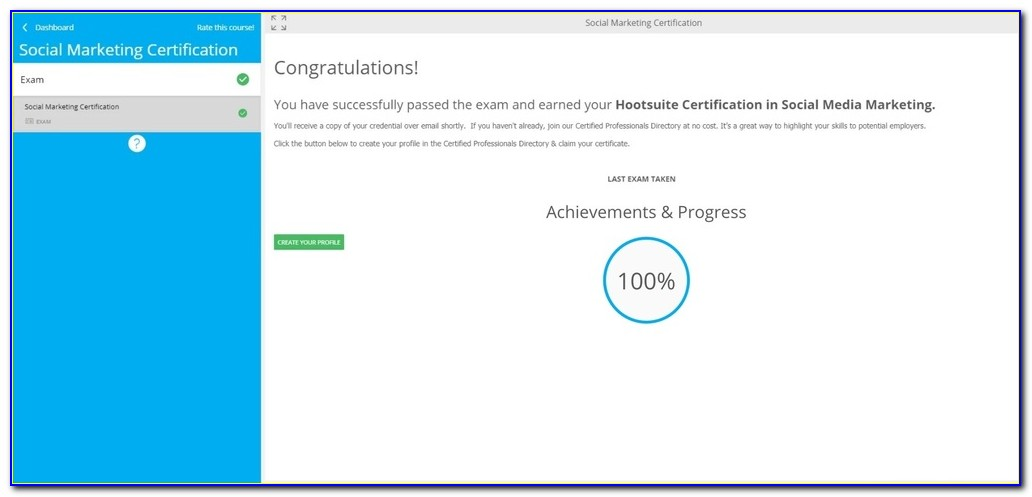 Hootsuite Social Media Certification Answers