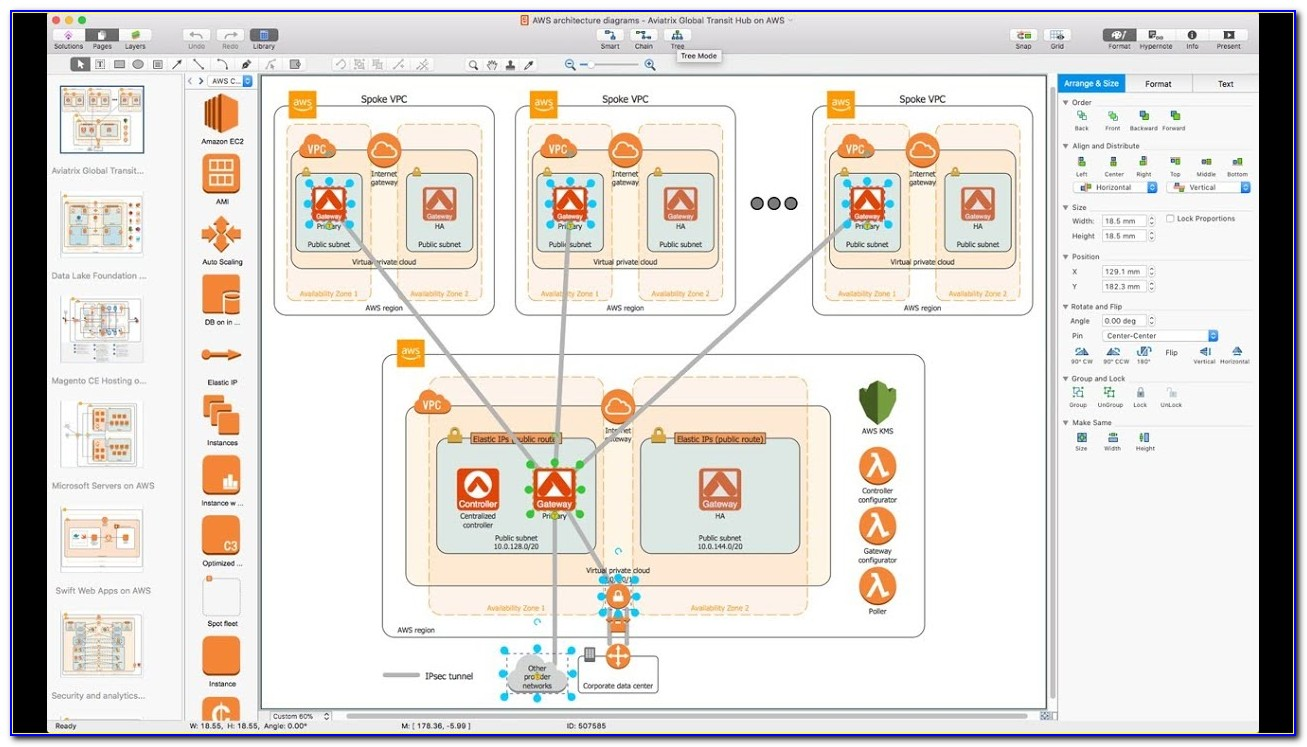 How To Draw Aws Architecture Diagram In Visio