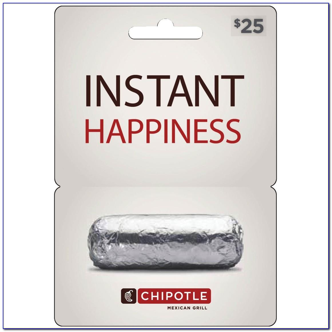 How To Get Chipotle Free Burrito Card