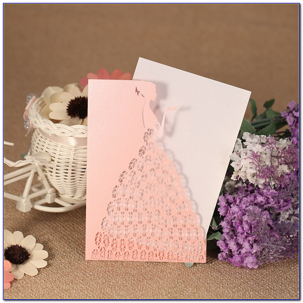 How To Make Laser Cut Wedding Invitations With Cricut