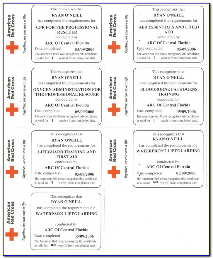 How To Renew Red Cross Wsi Certification