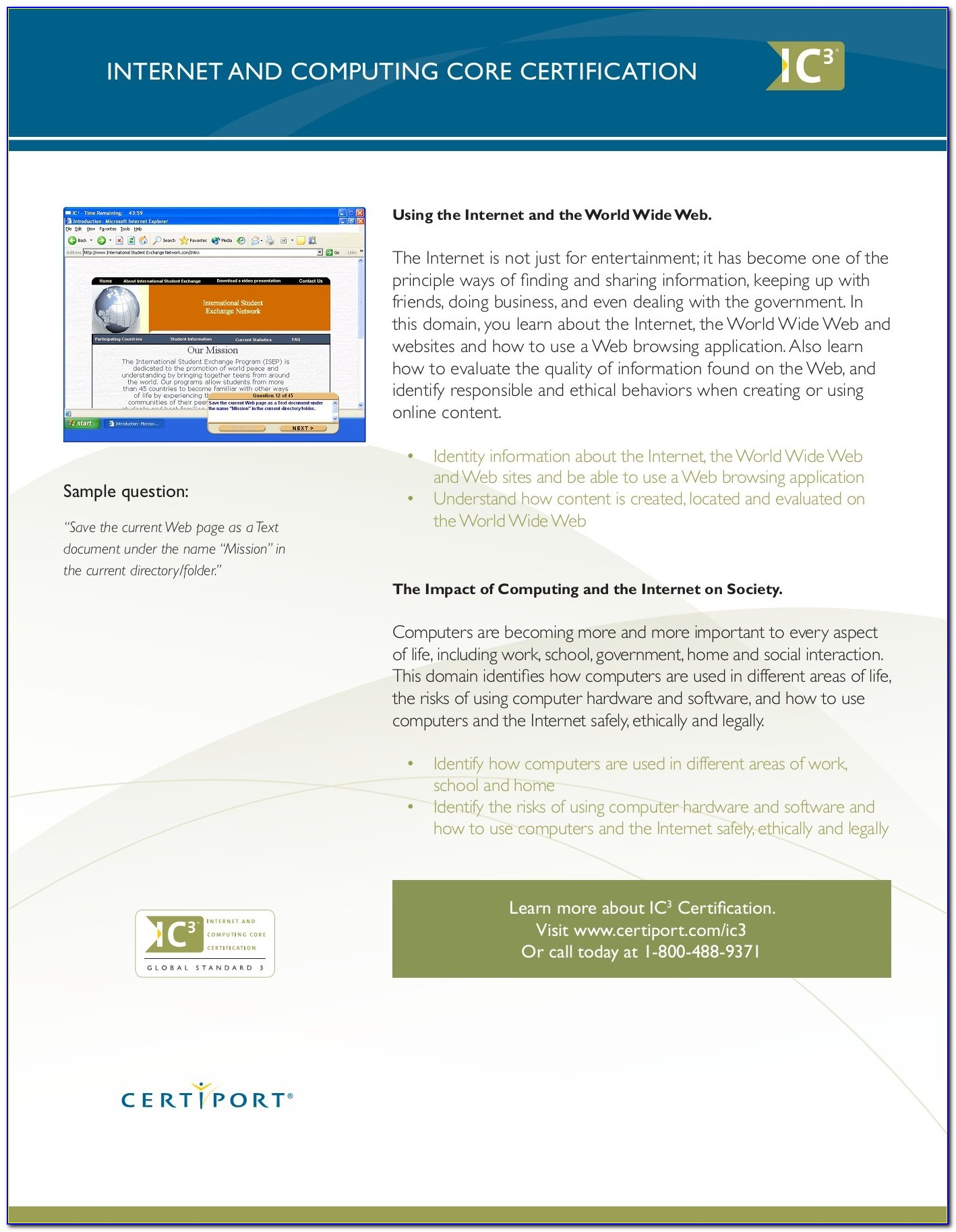Ic3 Certification Study Guide Free Download