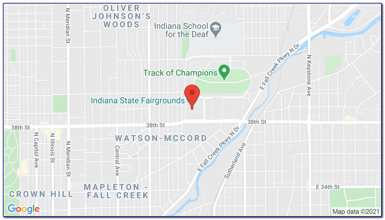 Indiana State Fairgrounds Gate Map