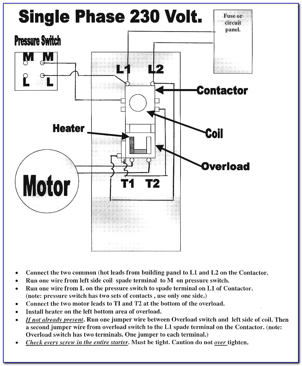 Ingersoll Rand Air Compressor Wiring Diagram Single Phase