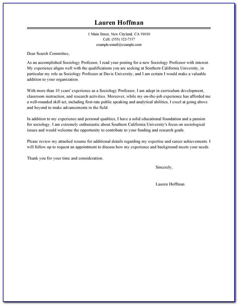 International Admissions Counselor Cover Letter