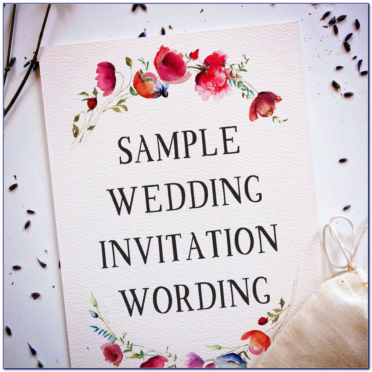 Invitation Wording For Friends Card