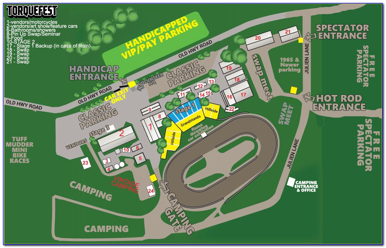 Iowa State Fairgrounds Camping Map