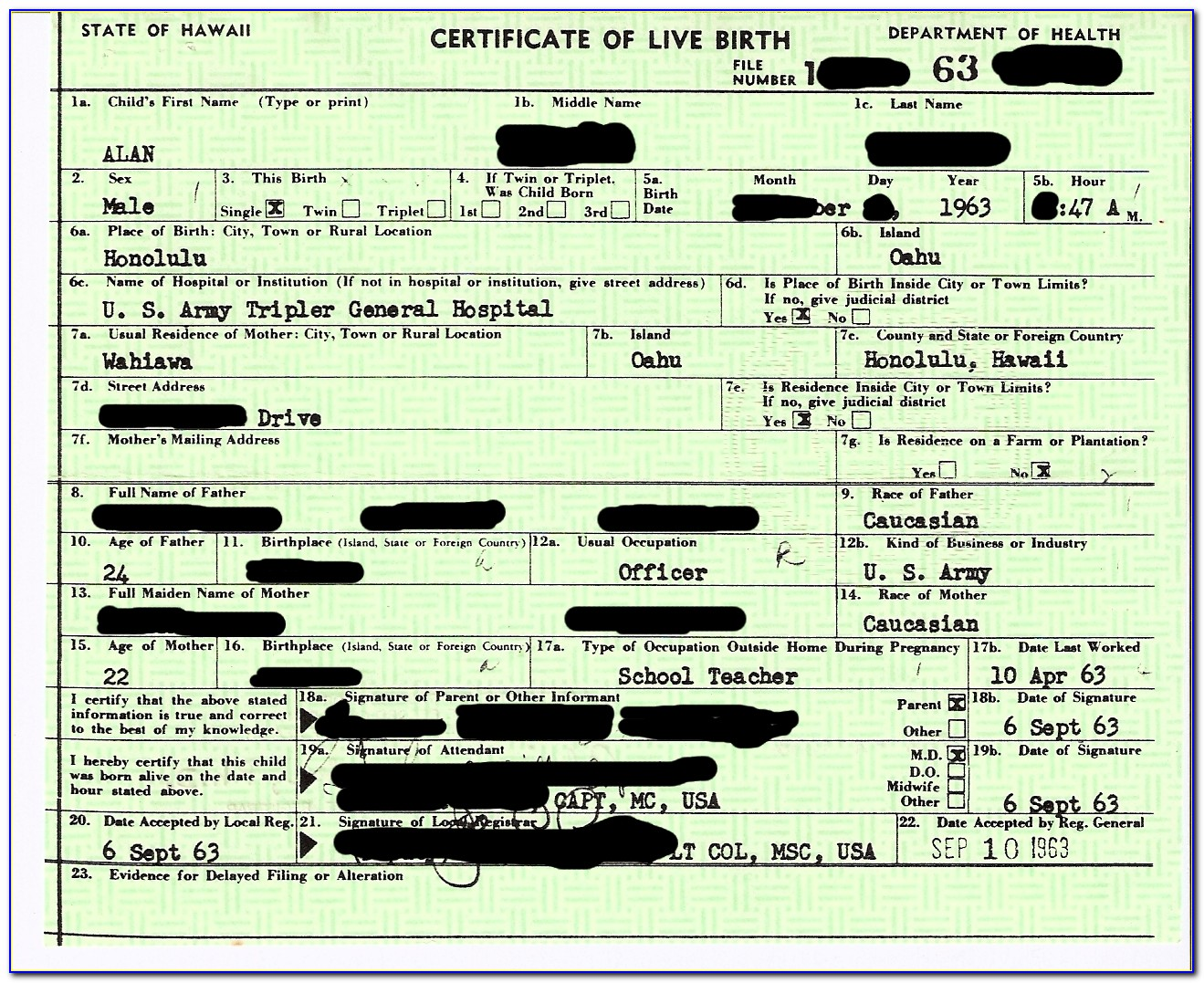 Is My Ssn On My Birth Certificate