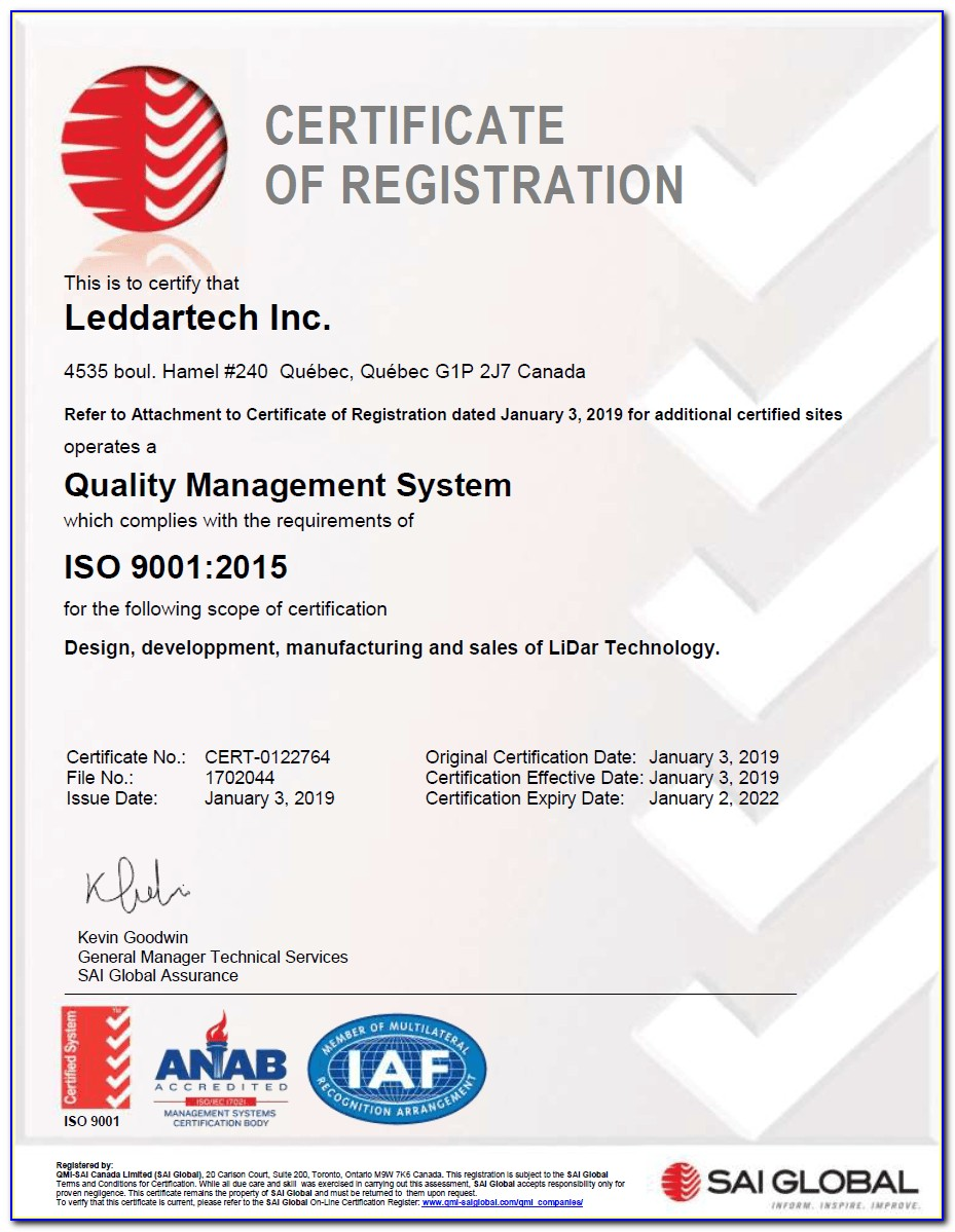 Iso 26262 Certification India