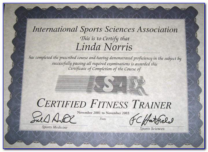 Issa Certified Personal Trainer Reviews