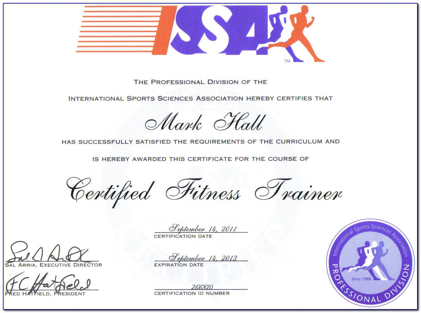 Issa Personal Trainer Certification Cost