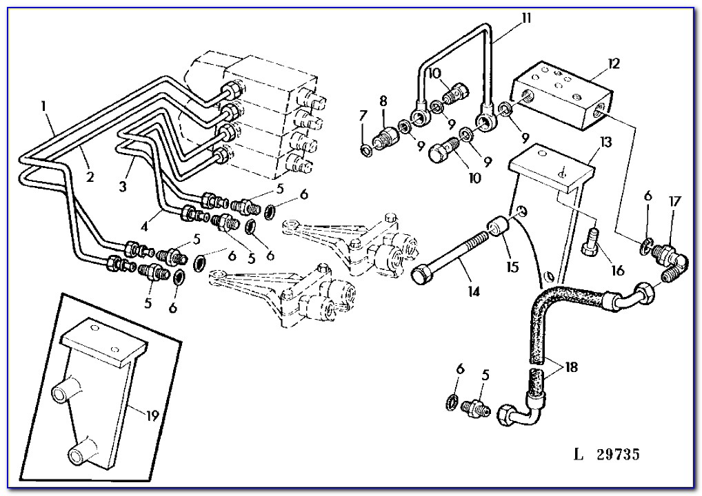 John Deere D130 Deck Belt Diagram