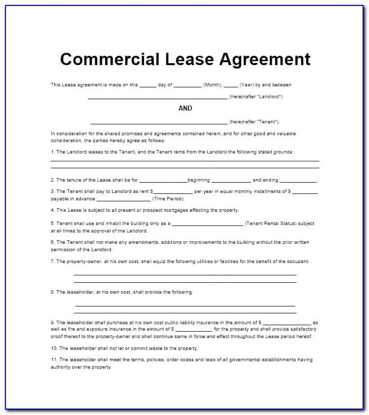 Landlord Contract Template Uk Free