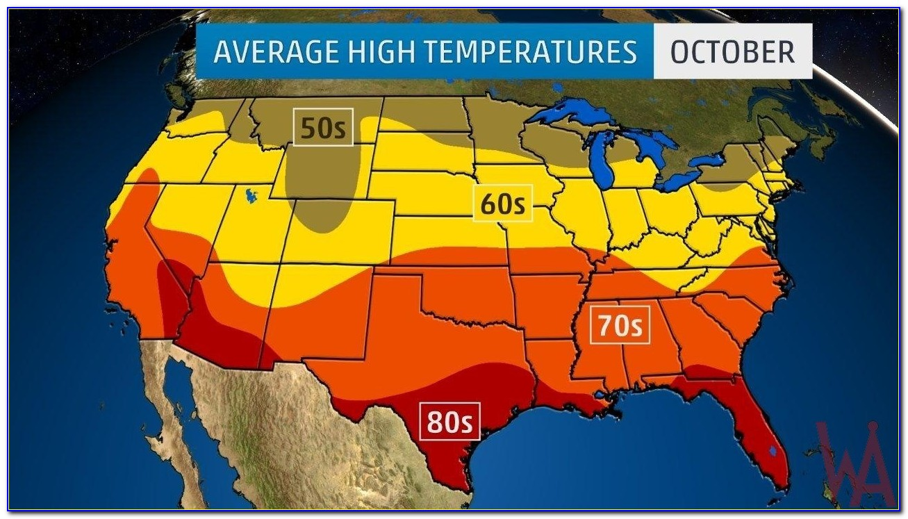 Live Us Weather Temperature Map