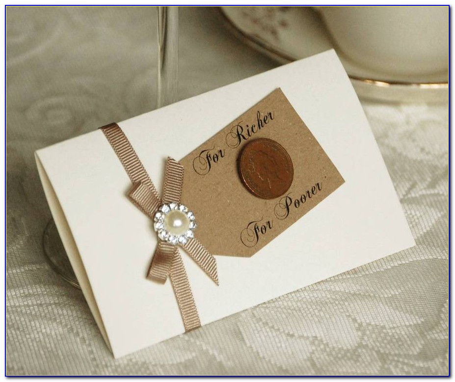 Lottery Scratch Card Holders Wedding Favours