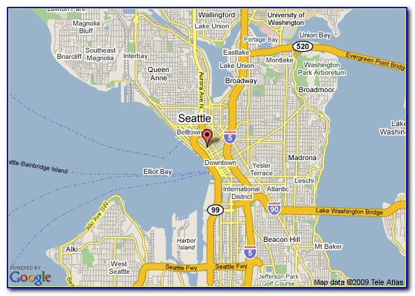 Map Of Seattle Airport Hotels