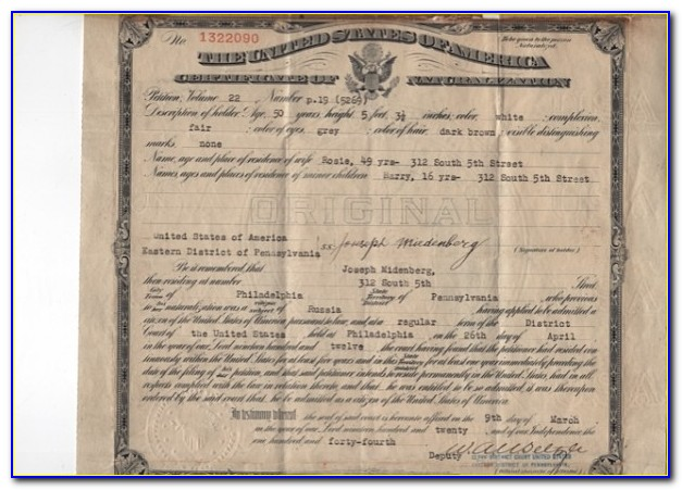 Marion County Indiana Birth Certificate Copy