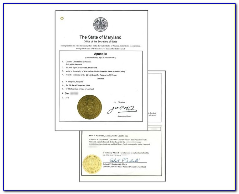 Maryland Cpa Wall Certificate