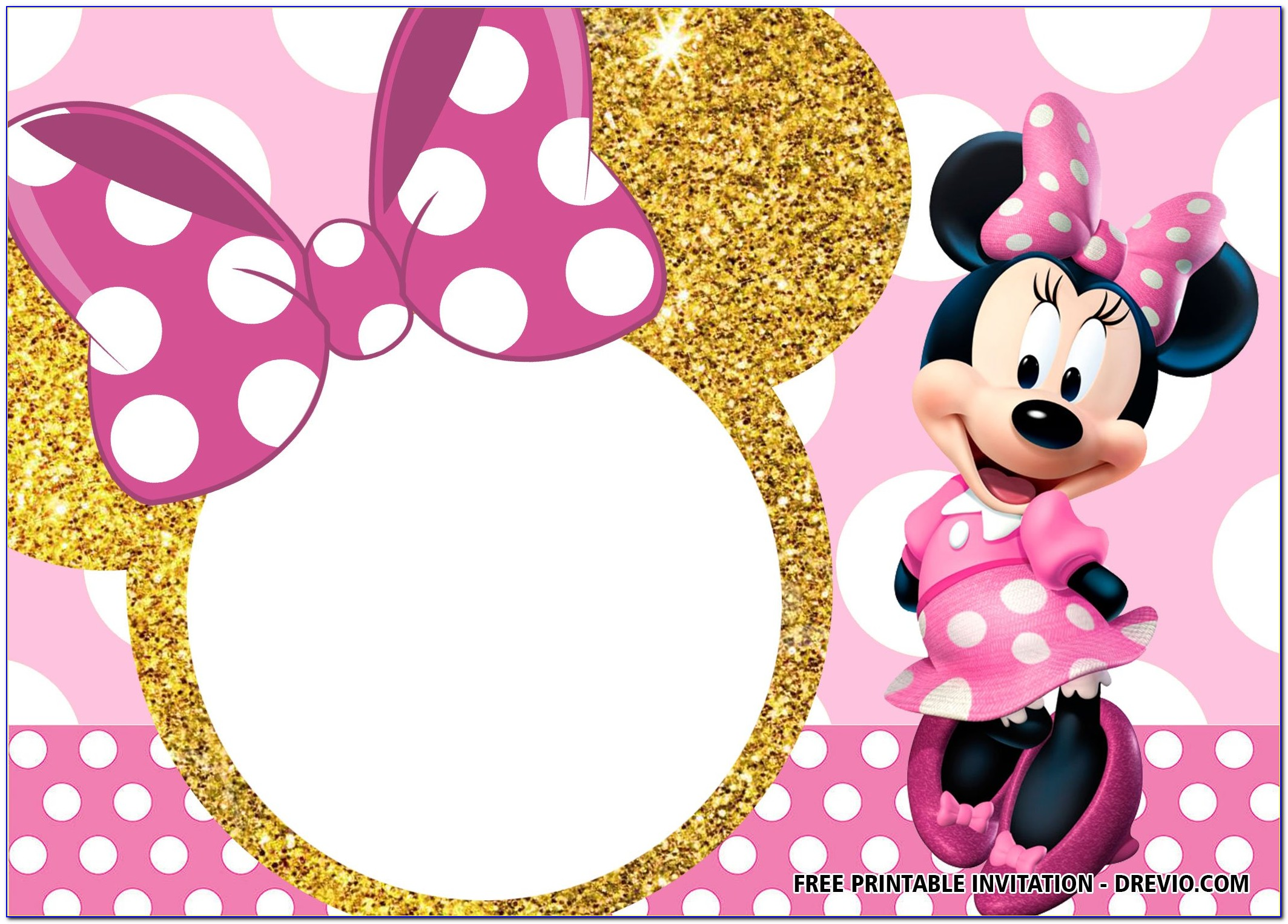 Minnie Mouse Invitations Online Free