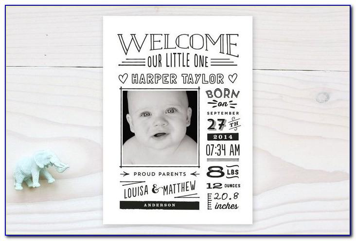 Minted Birth Announcement Coupon Code